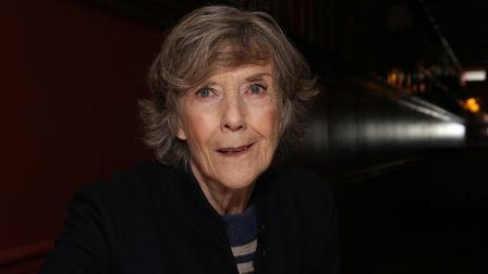 NEW YORK, NY - NOVEMBER 15: Dame Eileen Atkins during the Eileen Atkins portrait unveiling at Sardi