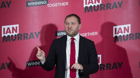 Ian Murray launches his campaign for Labour deputy leader at the Wester Hailes Education Centre in E