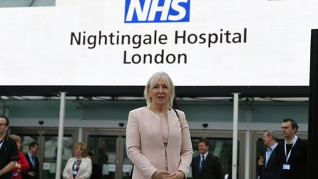 Health minister Nadine Dorries. (Photo by Stefan Rousseau - WPA Pool /Getty Images)
