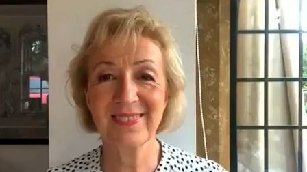 Brexiteer Andrea Leadsom talks about the possibility of a no-deal Brexit. Photograph: Twitter.