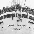 The 'Empire Windrush' arrives at Tilbury Docks in 1948. Photo: Daily Herald Archive/SSPL/Getty Image