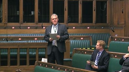 Lee Anderson questioned Jacob Rees-Mogg about whether the use of the word 'racist' is appropriate. P