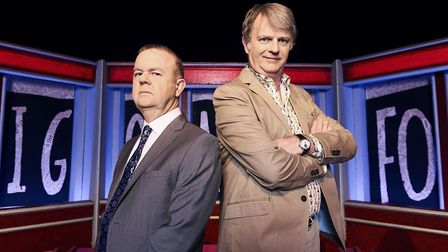 Have I Got News For You's Ian Hislop, left, and Paul Merton. Picture: BBC/Hat Trick/Ray Burmiston
