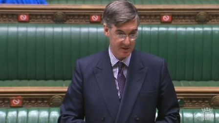 Jacob Rees-Mogg in the House of Commons. Photograph: Parliament TV