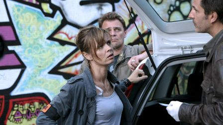 Which acclaimed French TV drama is this? (Question six) (Pic: A Son et Lumierer for Canal Plus)