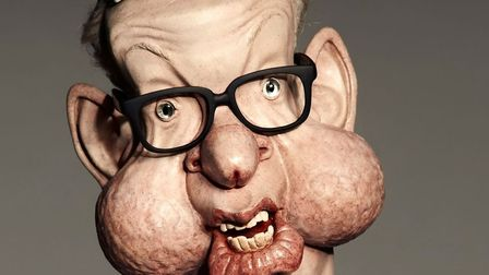 Michael Gove will appear on the new series of Spitting Image. Photograph: Spitting Image.