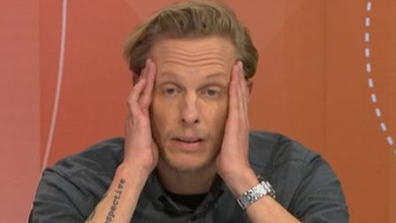 Laurence Fox on Question Time