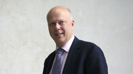 Former government minister and transport secretary Chris Grayling.