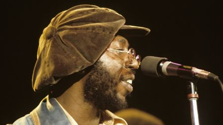 Curtis Mayfield in concert