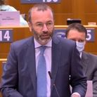 Manfred Weber in the European parliament