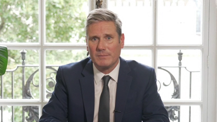 Keir Starmer addresses the nation in a televised address