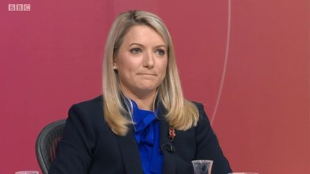 Kirstene Hair on Question Time