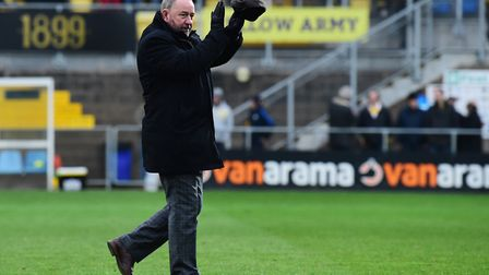 Gary Johnson, manager of Torquay United Picture: Micah Crook/PPAUK