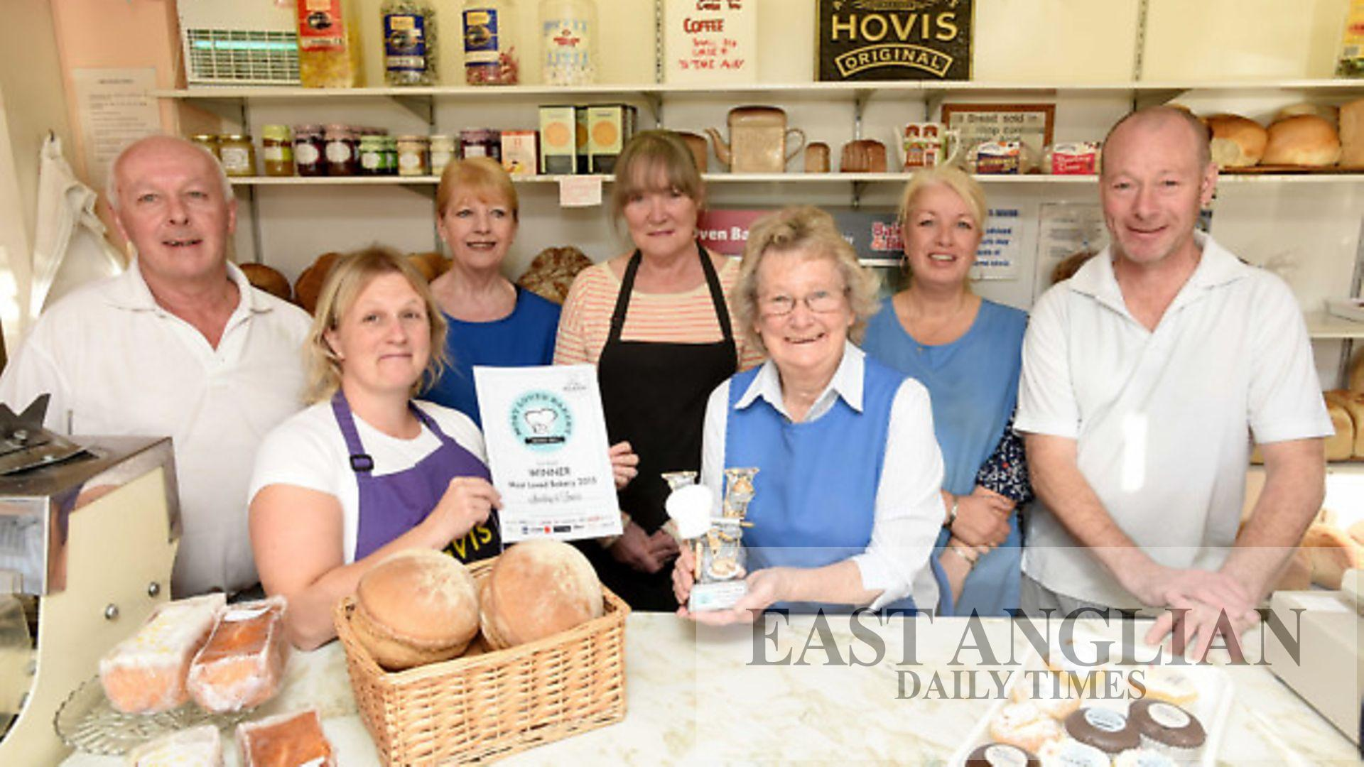 Lavenham shop voted 'most loved bakery' in East Anglia East Anglian Daily Times