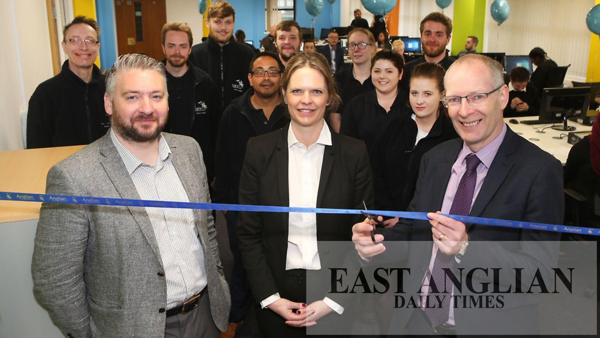Anglian Home Improvements Invests In New Ipswich Call Centre East Anglian Daily Times
