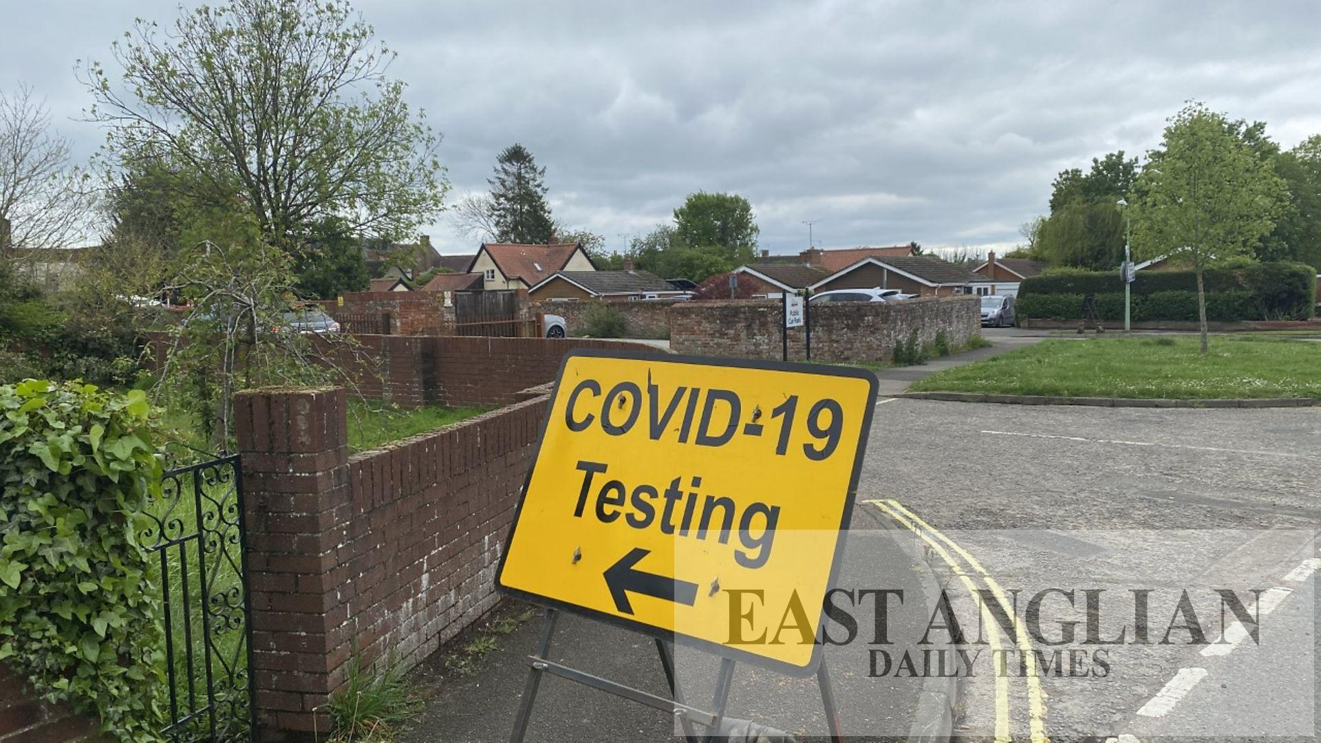 More Covid testing in Needham Market after Indian variant
