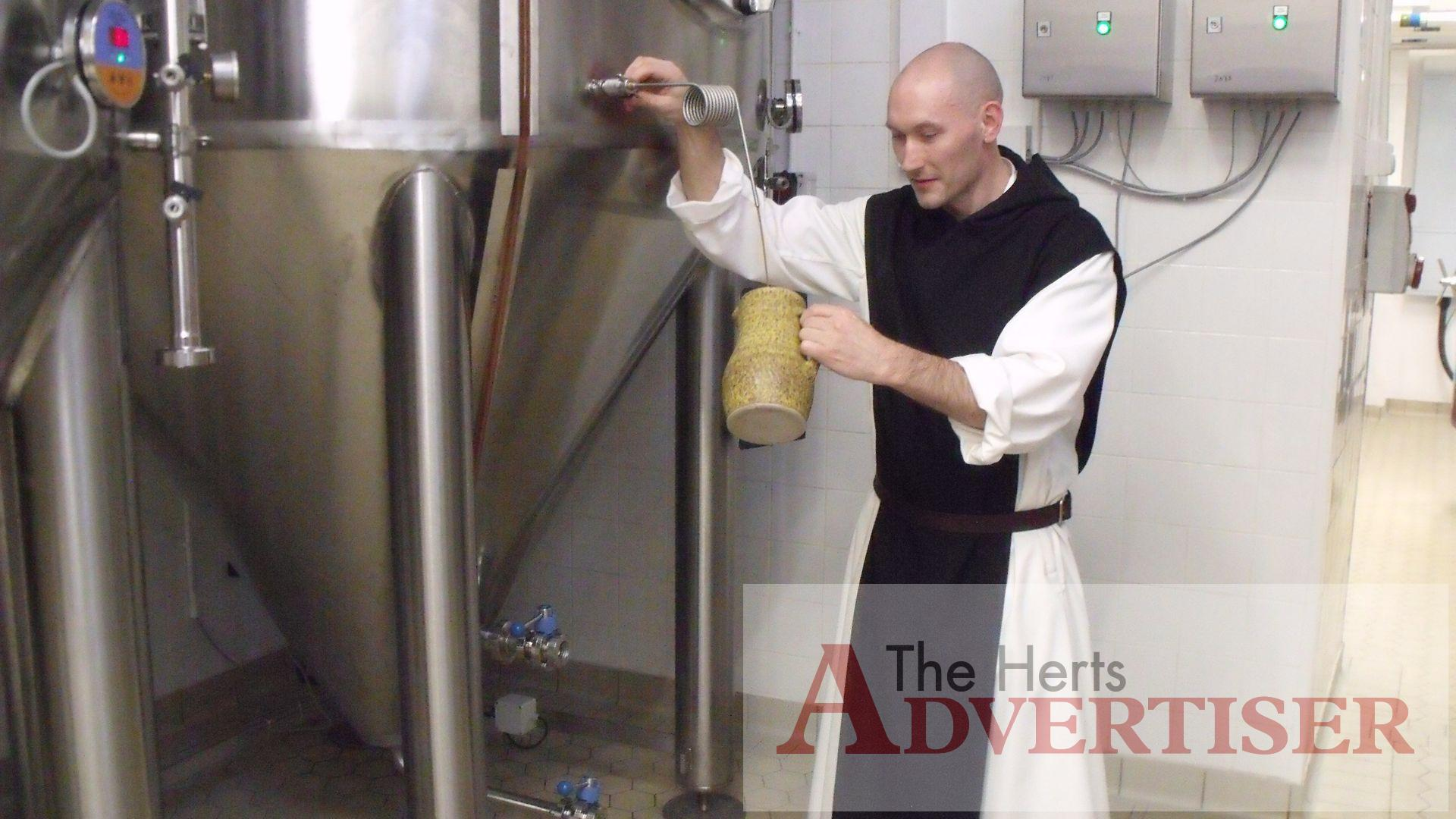 Beers brewed by monks: Tynt Meadow and Westmalle Extra