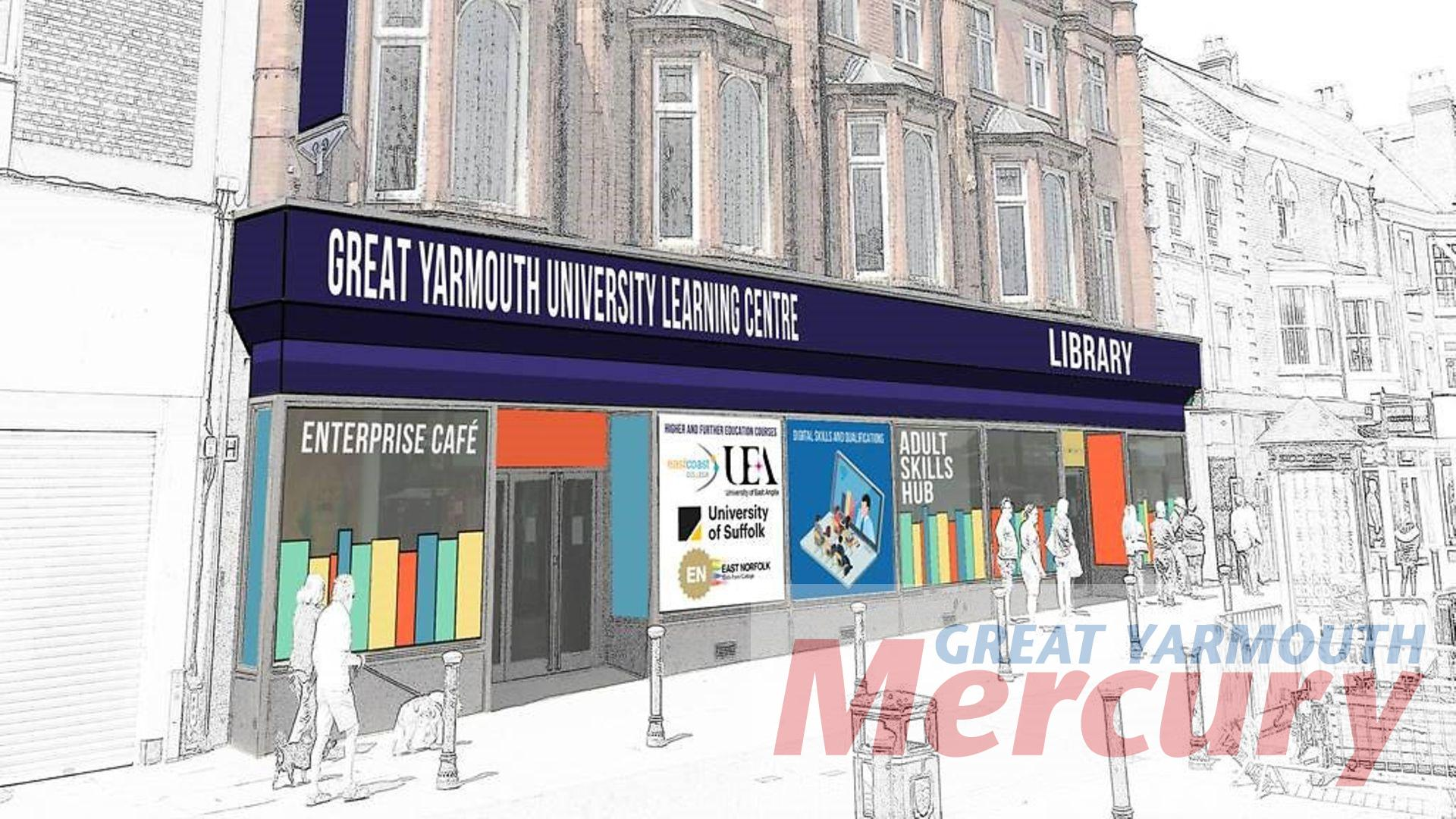 University Campus Vision For Great Yarmouth Under Town Deal Great Yarmouth Mercury