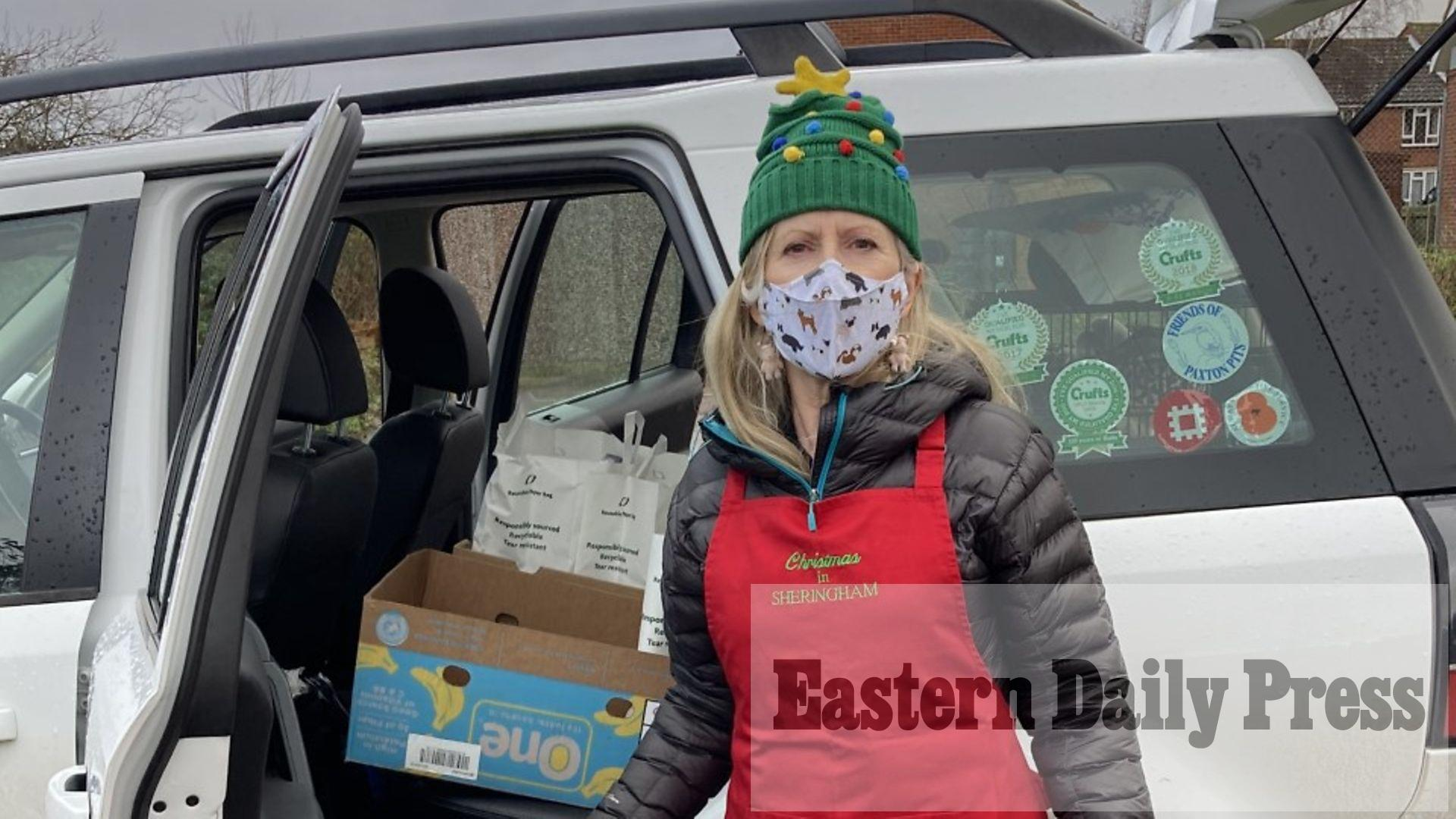 Volunteers spread festive cheer with Christmas lunch deliveries