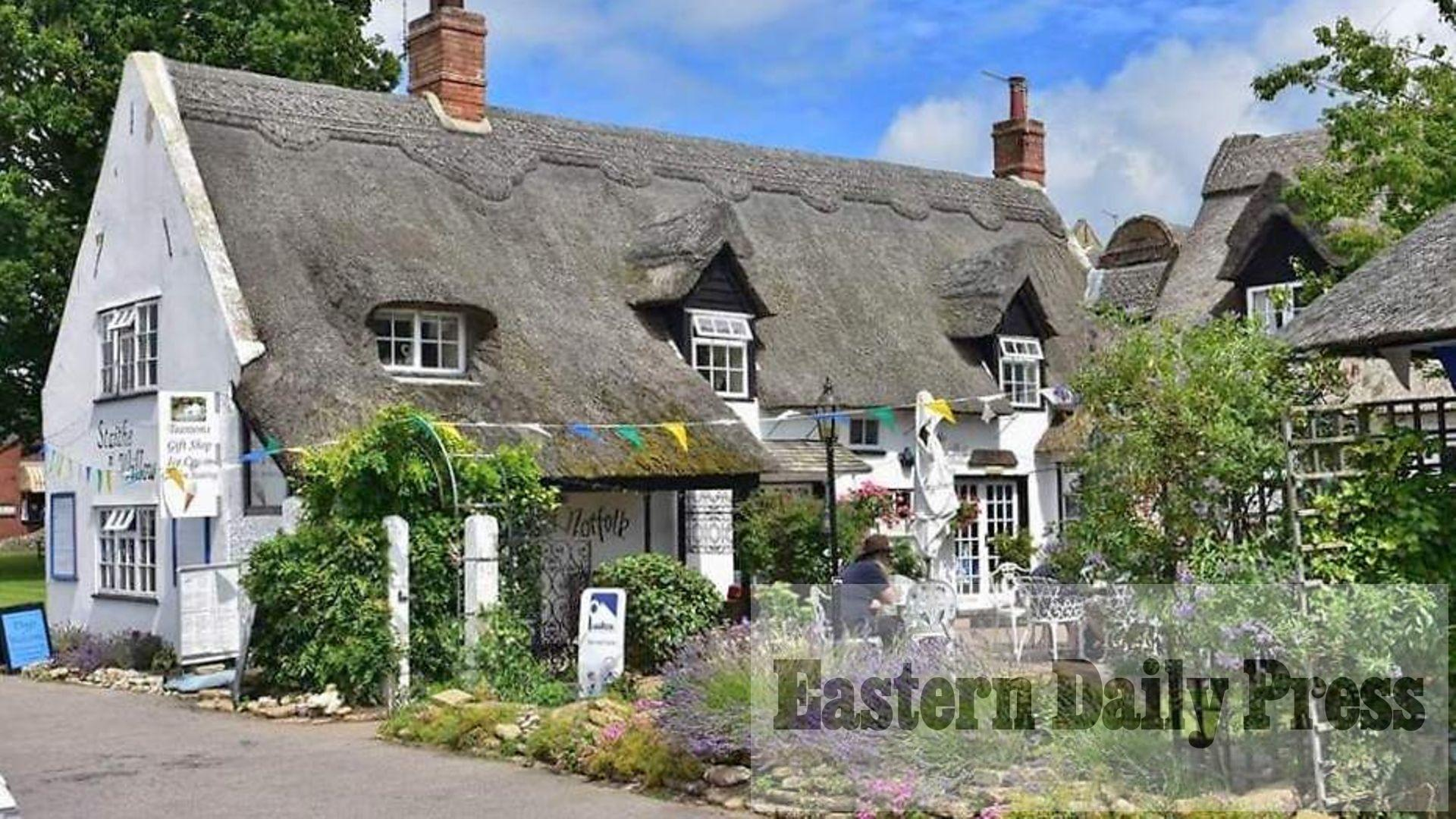 Pretty thatched cafe on Broads up for sale for £75,000