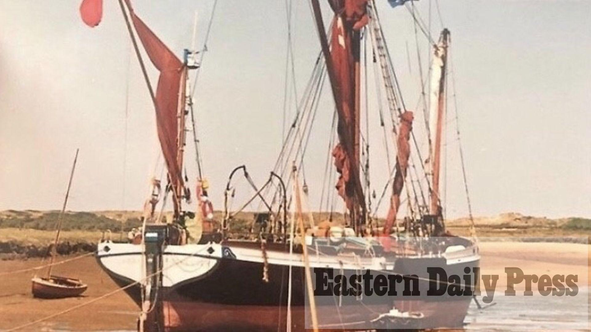 Boost for bid to bring historic sailing barge to north Norfolk