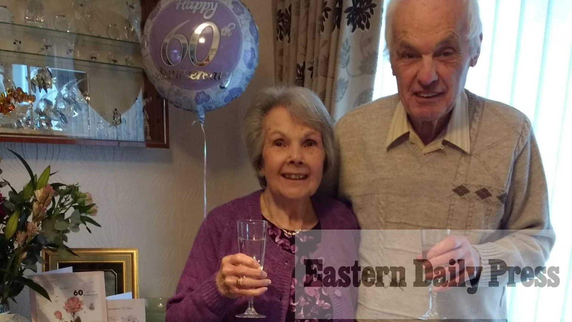 Couple who met at youth club celebrate 60 year anniversary