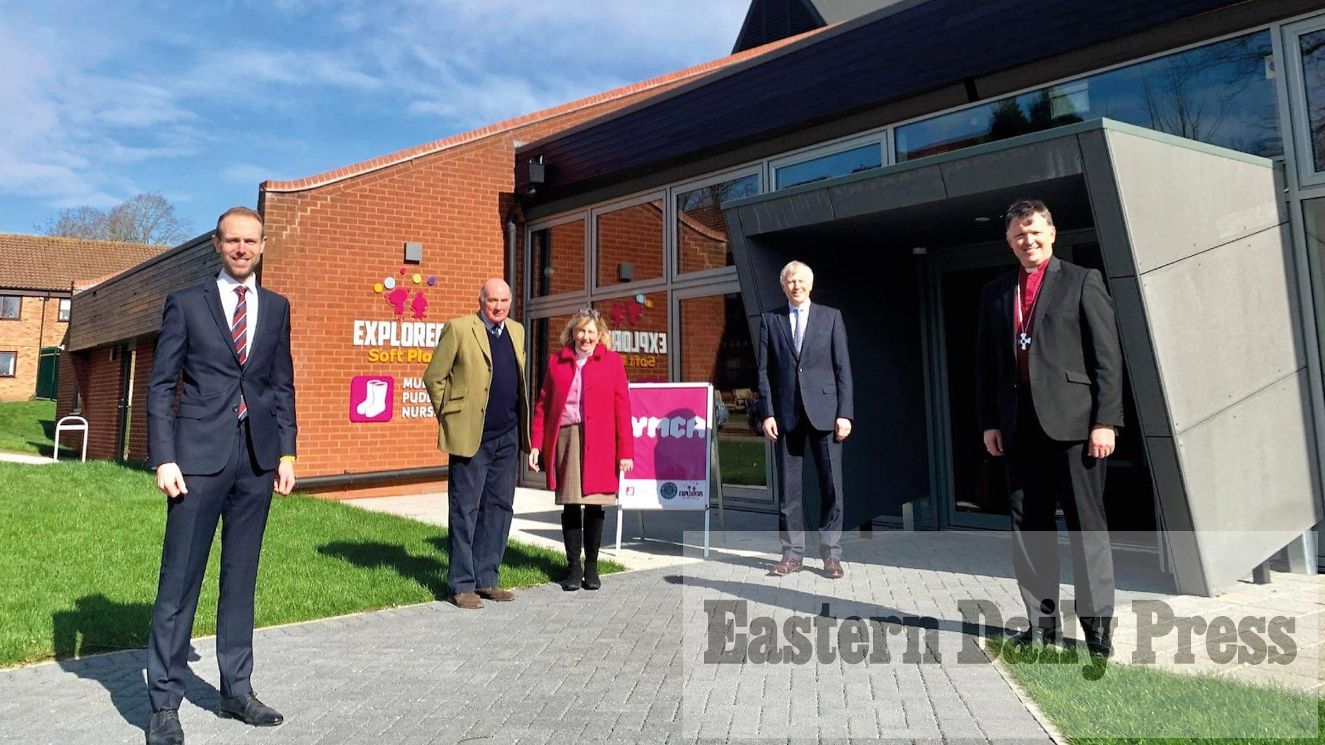 Special blessing for £2m YMCA community hub