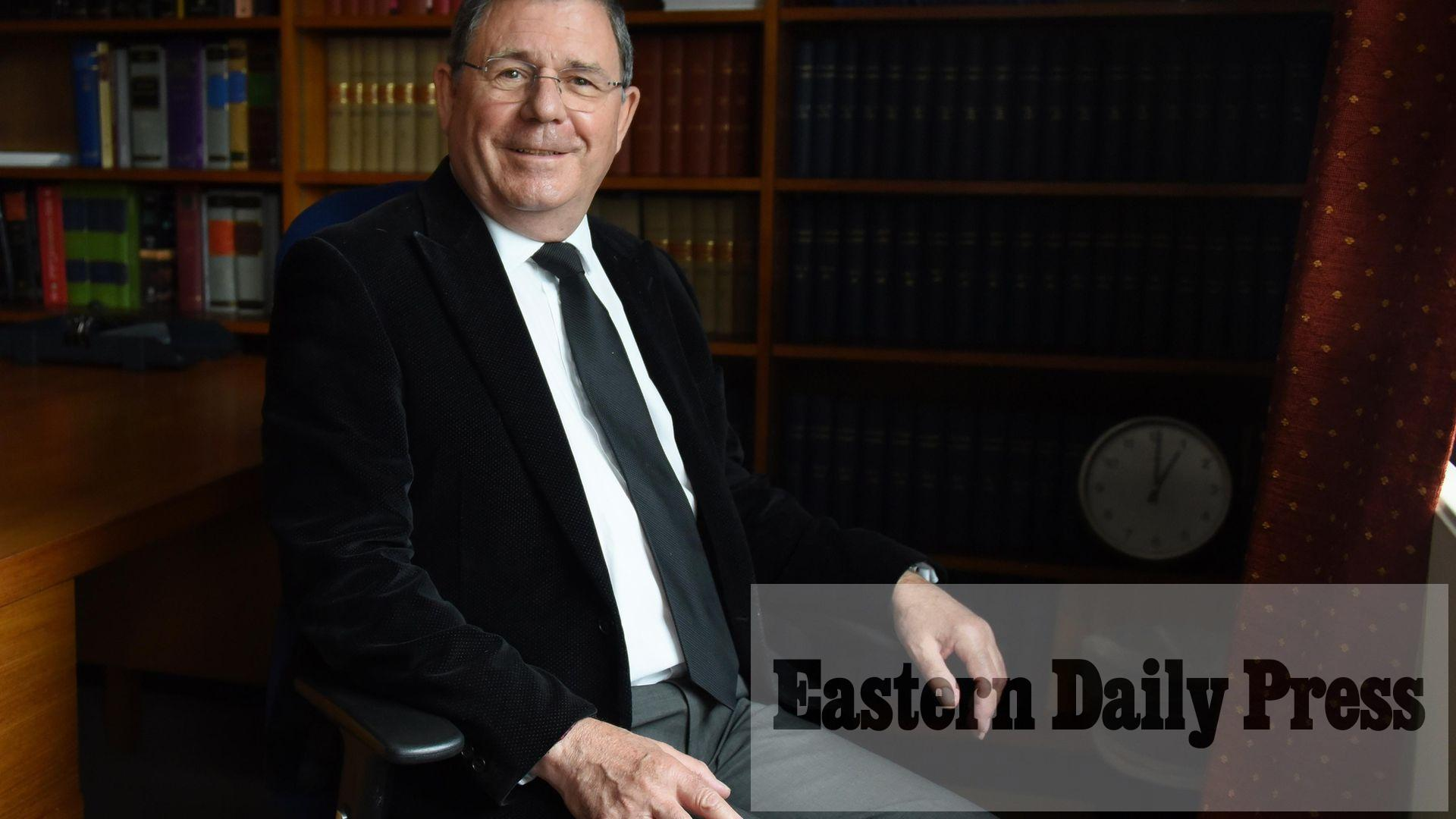 Retiring judge lifts lid on career and says Norwich 'best' resident job