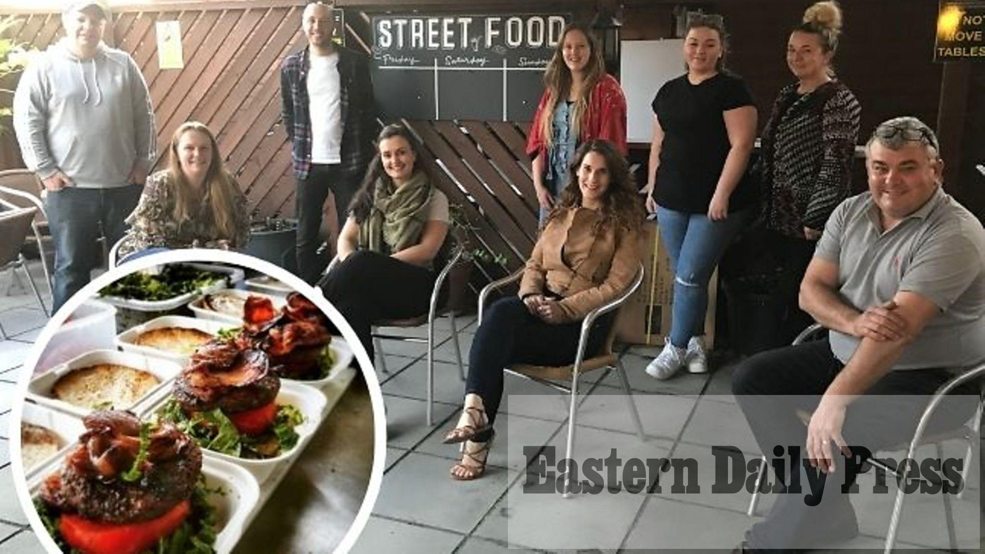 Norwich pub welcomes eight new street food vendors