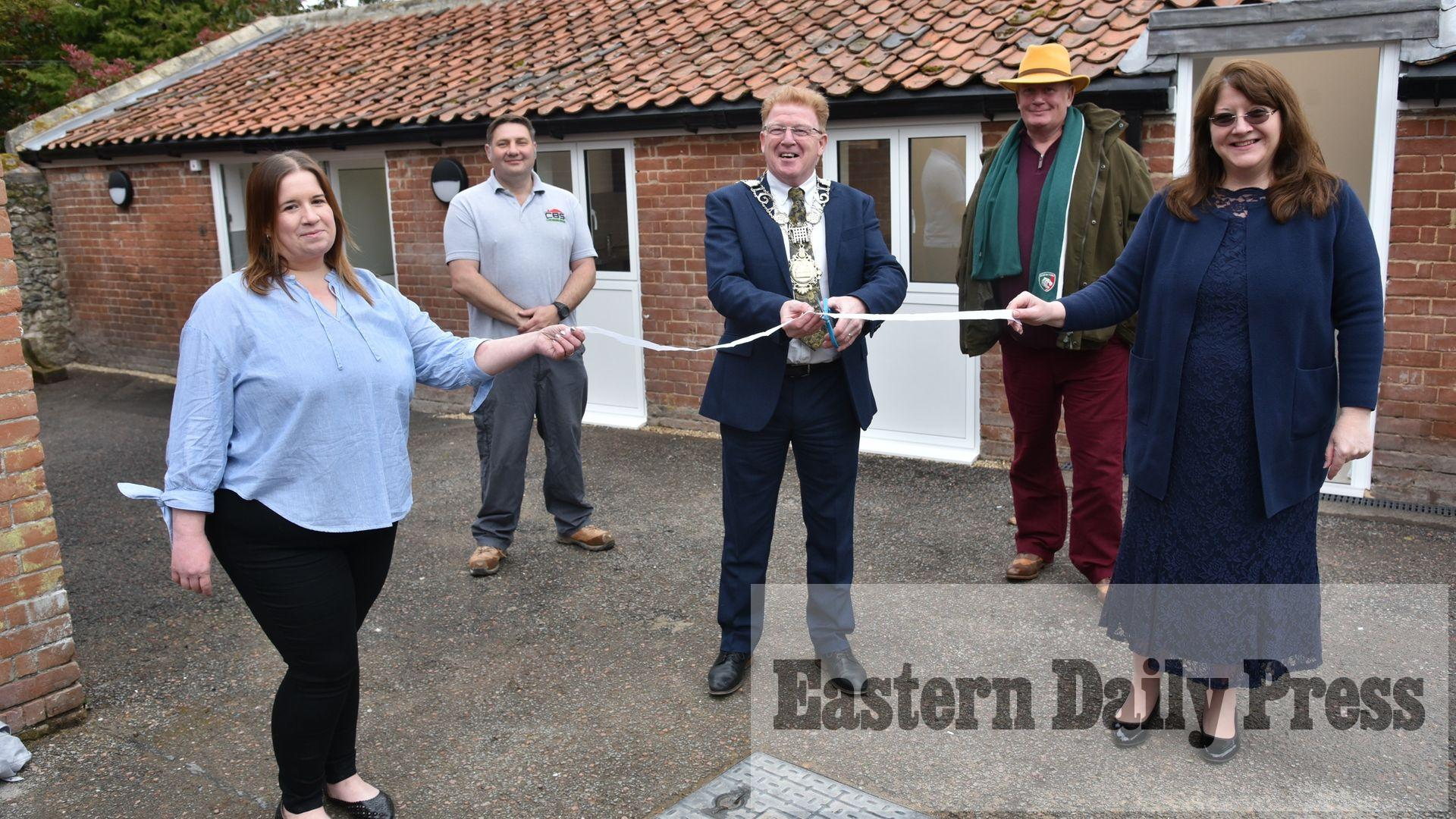 Community space to help homeless opens in Thetford