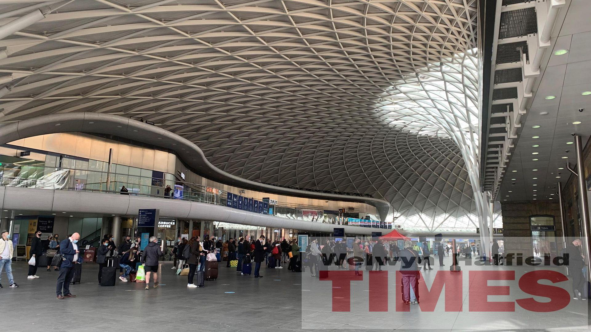 Three-day closure at King's Cross station from April 23-25