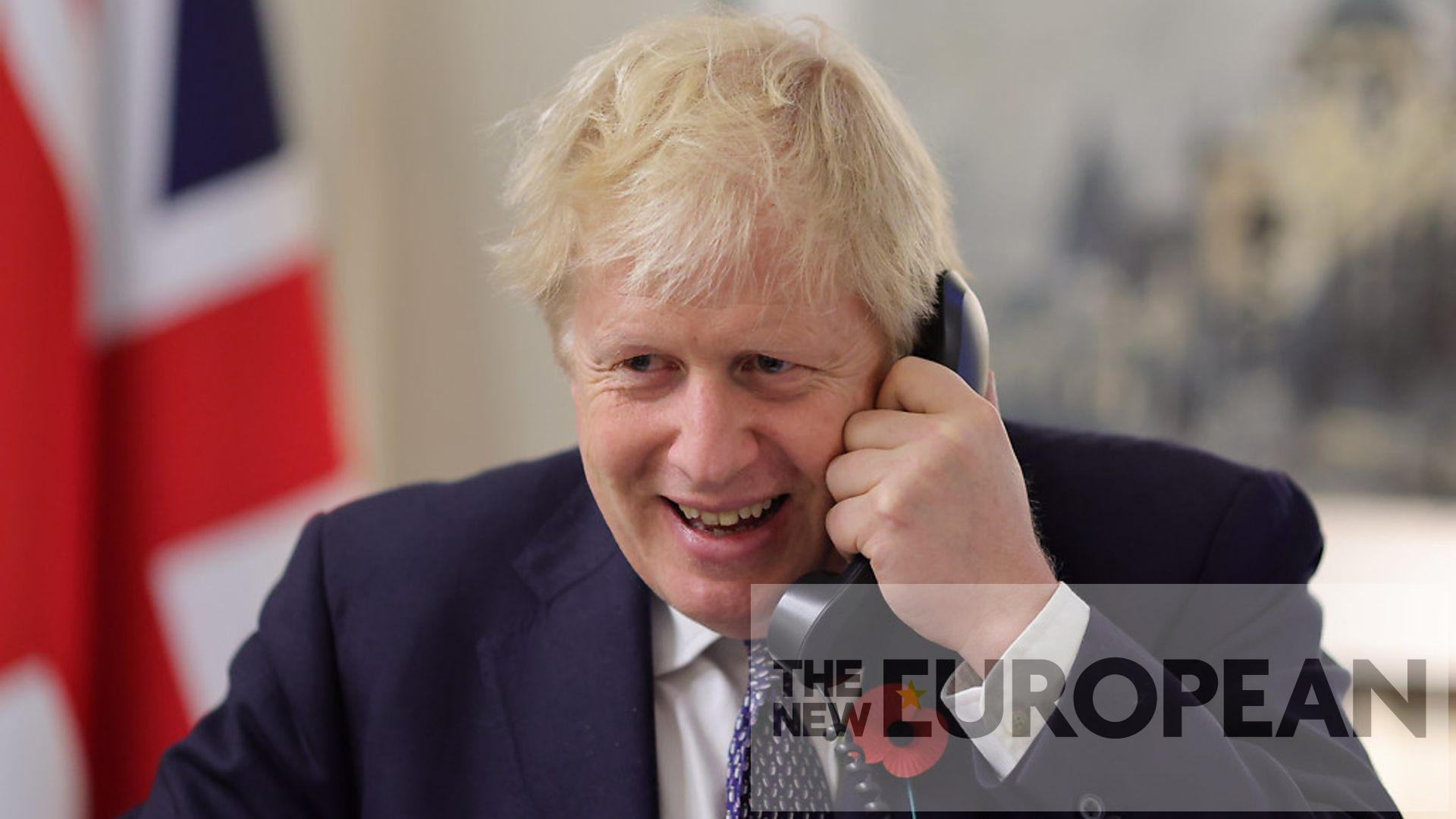 Boris Johnson's phone number 'available online for 15 years'  The New European